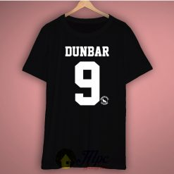 Dunbar 9 Jersey Number Beacon Hills Basic Tee