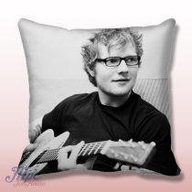 Ed Sheeran With Guitar Throw Pillow Cover