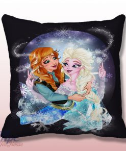 Disney Elsa and Anna Frozen Thow Pillow Cover