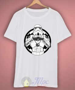 Empire Poppin Stormtrooper T Shirt