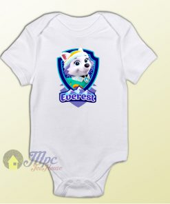 Baby Bodysuit Everest Badge Baby Onesie