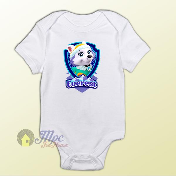 Baby Bodysuit Everest Badge Baby Onesie