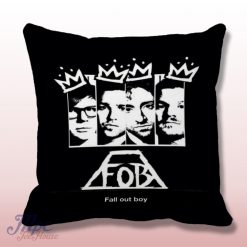 Fall Out Boy King Throw Pillow Cover