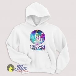 Five Second Of Summer Nebula Galaxy Hoodie Size S-XXL