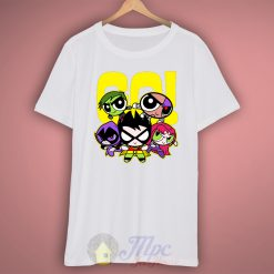 Go Power Puff Girl T Shirt