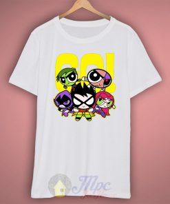 Go Power Puff Girl T Shirt