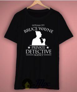 Batman Gotham City Private Detective Basic Tee