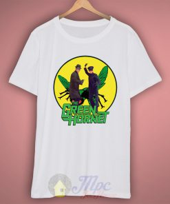 Green Hornet Superhero T Shirt
