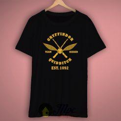 Harry Potter Gryffindor Quidditch T Shirt