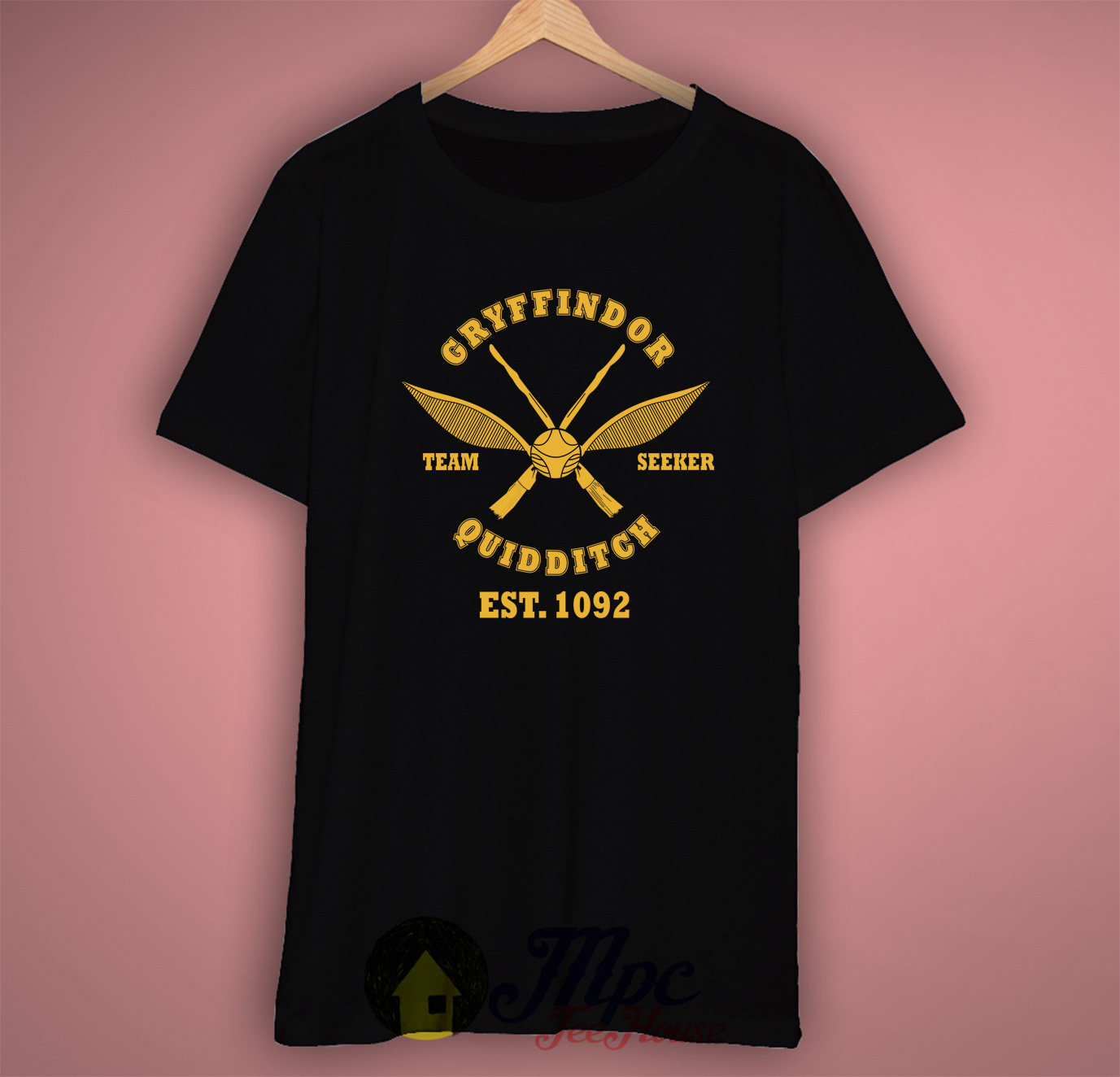 c650dd60f ... Clothing, Home Decor, Men, Popular, Uncategorized, Women. Harry Potter  Gryffindor Quidditch T Shirt