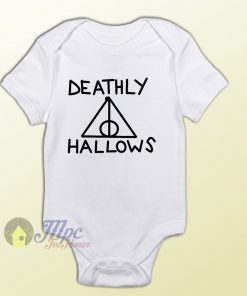 Harry Potter Deathly Hallows Baby Onesie Baby Gift
