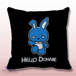 Hello Donnie Darko Throw Pillow Cover