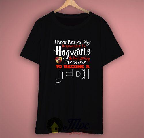 Hogwarts Harry Potter Acceptance Letter T Shirt