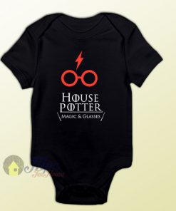 House of Harry Potter Baby Onesie