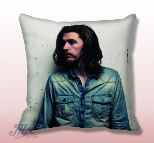 Andrew Hozier Throw Pillow Cover
