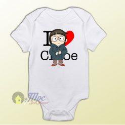 I love Chloe Undertale Baby Onesie