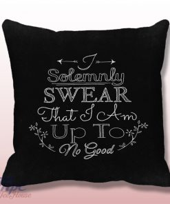 I Solemnly Harry Potter Quote Pillow Cover