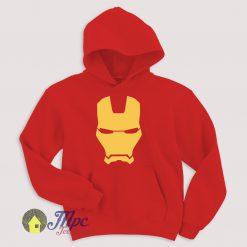 Iron Man Mask Hoodie Size S-XXL