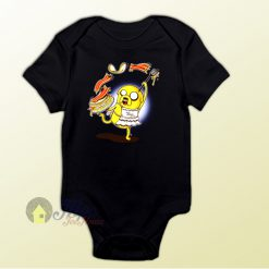 Jake Adventure Time Bacon Baby Onesie