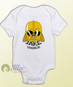 Darth Vader Jake Adventure Time Baby Onesie