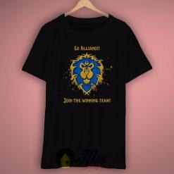 Joint The Alliance Winning Team T Shirt