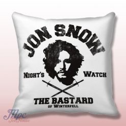 Jon Snow Night Watch Game of Thrones Pillow Cover