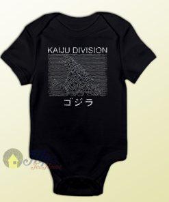 Godzilla Kaiju Joy Division Baby Onesie