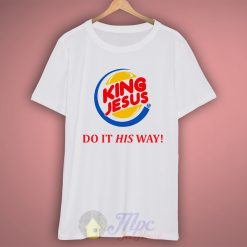 King Jesus Burger T Shirt