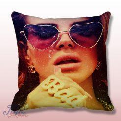 Lana Del Rey Bad Throw Pillow Cover