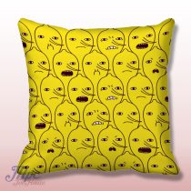 Lemon Grab Adventure Time Throw Pillow Cover