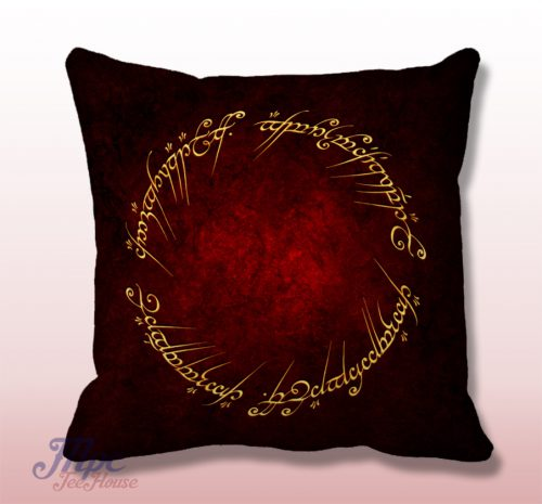 Lord of The Ring Quotes Throw Pillow Cover