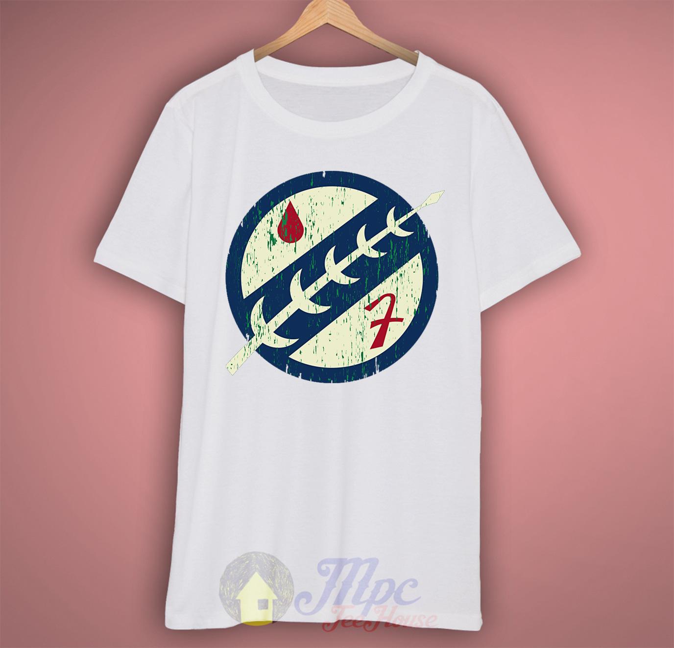 Boba Fett Mandalorian Symbol T Shirt Mpcteehouse 80s Tees