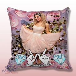 Marina and The Diamond Floral Throw Pillow Cover