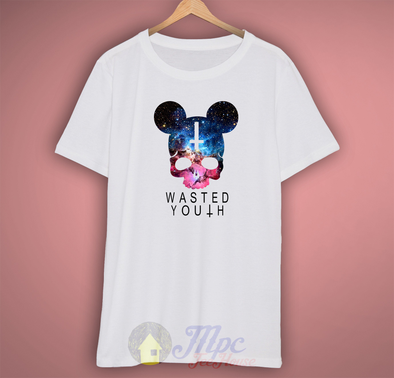 Mickey Wasted Youth Hipster T Shirt
