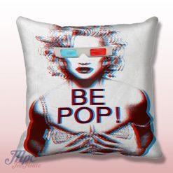 Monroe be Pop 3D Glass Throw Pillow Cover