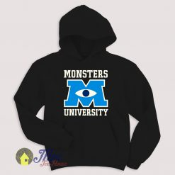 Monster University Emblem Hoodie Size S-XXL