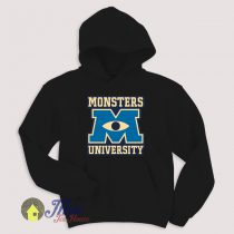 Monster University Eye Symbol Hoodie Size S-XXL