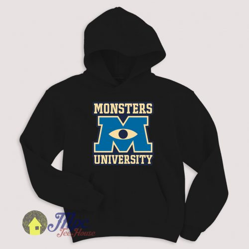 Monster University Eye Symbol Hoodie Size S-XXL