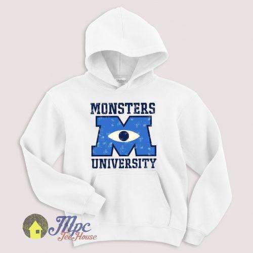 Monster University Symbol Hoodie Size S-XXL