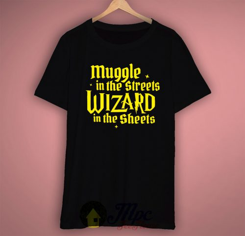 Harry Potter Muggle In The Street Unisex Premium T Shirt Size S-2XL