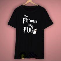 My Patronus is Pug Harry Potter Unisex Premium T Shirt Size S-2Xl