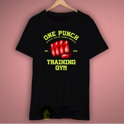 One Punch Man Training Gym Unisex Premium T Shirt Size S-2Xl