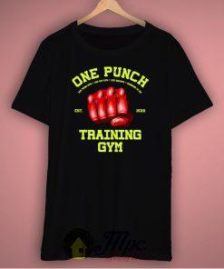 One Punch Man Training Gym Unisex Premium T Shirt Size S-2Xl