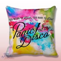 Panic at The Disco Paint Throw Pillow Cover