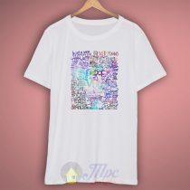 Pierce The Veil Song Lyrics T Shirt