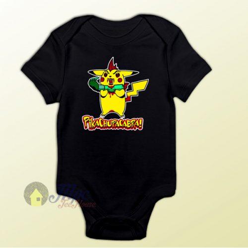Pikachu Zombie Baby Onesie