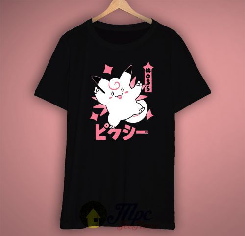 Pixy Clefable Pokemon T Shirt
