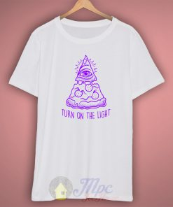 Pizza Illuminati T Shirt