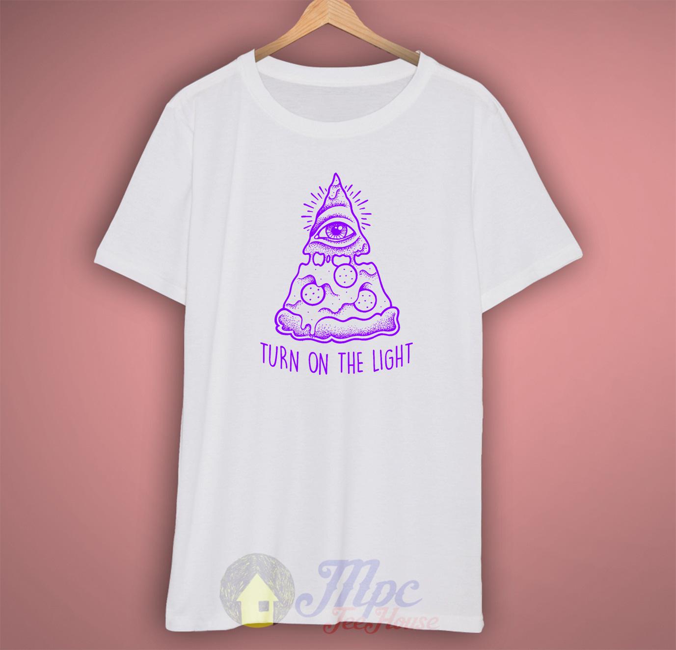 Pizza Illuminati T Shirt