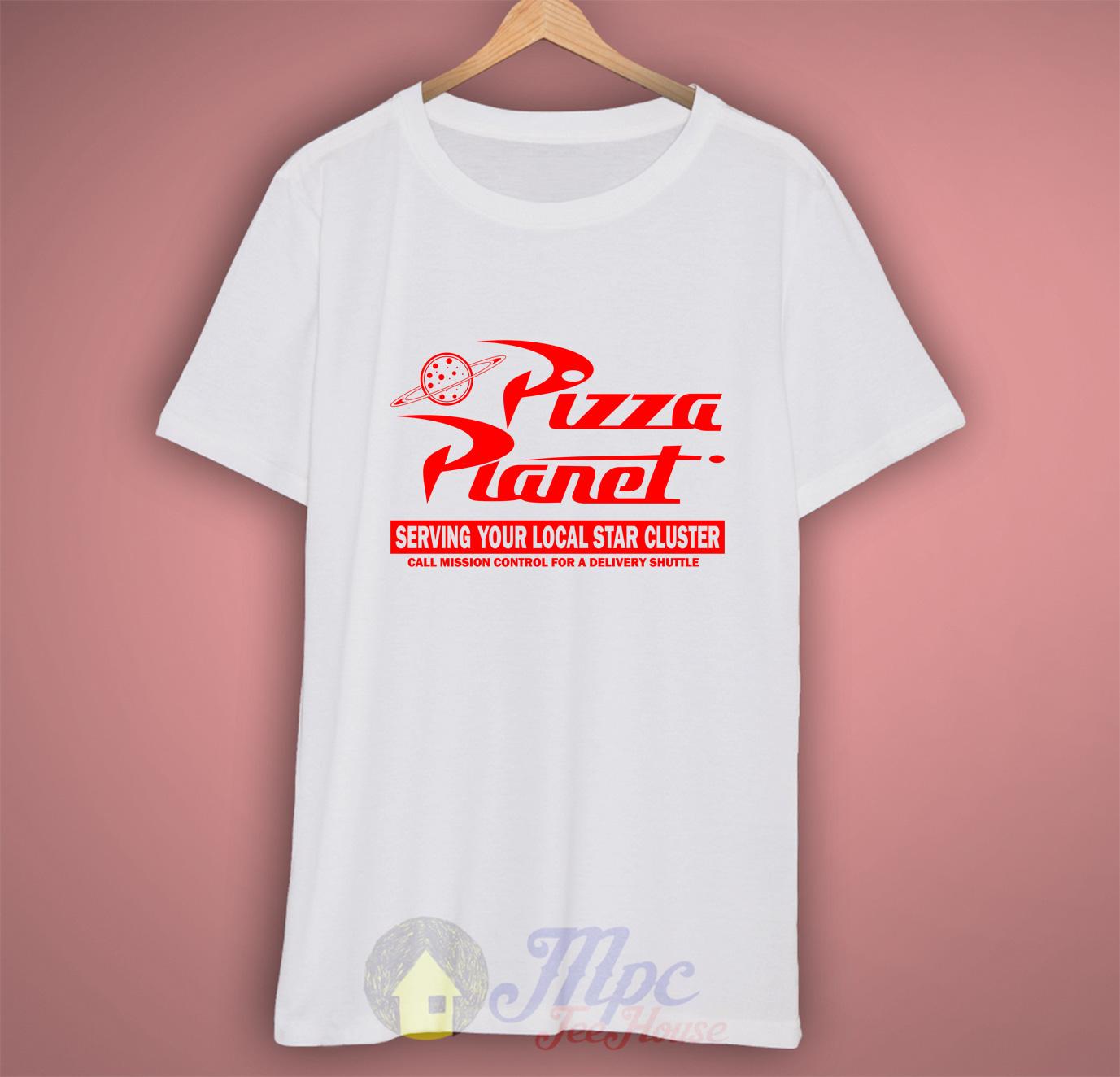 Pizza Planet Symbol T Shirt